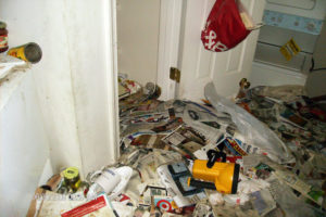An example of a hoarding case in Arlington County (photo courtesy Arlington Department of Human Services)