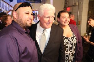 Rep. Jim Moran at Don Beyer victory party in Alexandria