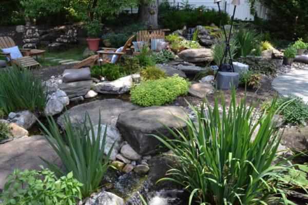 Jennings' garden.