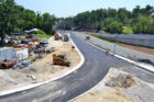 The construction wrapping up at Route 50 and N. Courthouse Road