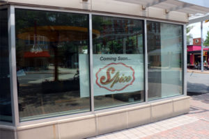 Spice opening soon in Clarendon