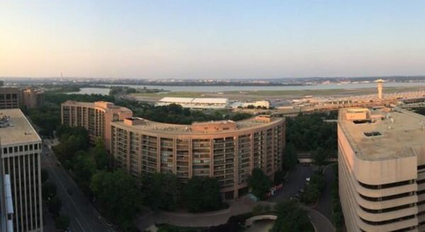 Rooftop view of Crystal City (photo courtesy @rydaka)