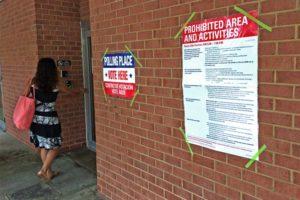 Voter in Pentagon City on 6/10/14