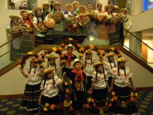 El Tayrona dance ensemble.