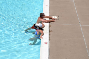 Heat advisory hits Arlington as locals take to the swimming pool (file photo)