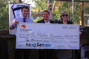 NextGenNow Check Presentation (photo courtesy NextGenNow)
