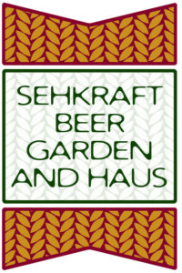 Sehkraft Beer Garden and Haus' logo (Image courtesy Devin Hicks)
