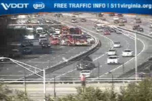 Accident at I-395 and King Street