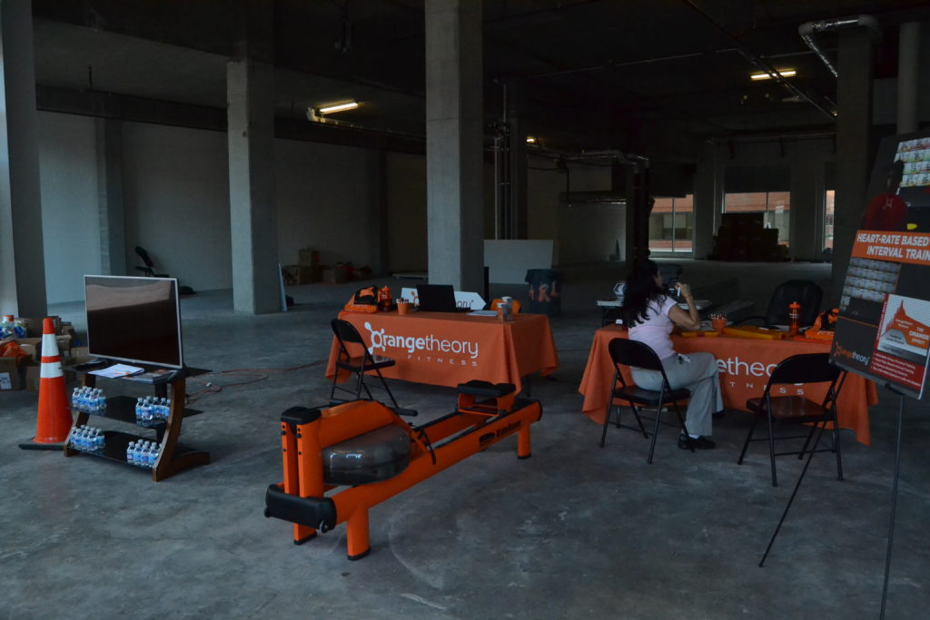 Pre-sale membership sign-up next door to Orangetheory Fitness' planned ...