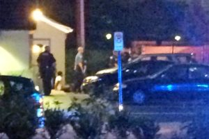 Aftermath of an alleged assault at IHOP on 7/20/14 (submitted photo)