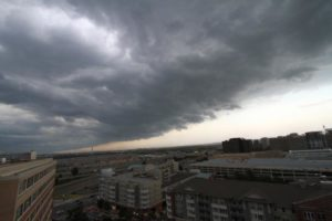 Storms in Pentagon City on 7/8/14