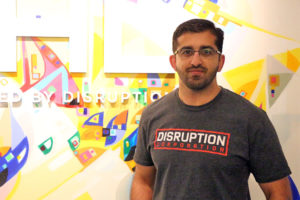 Paul Singh, Founder and CEO of Disruption Corporation, which runs Crystal Tech Fund
