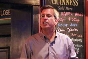 Rip Sullivan celebrates 48th District victory at O'Sullivan's in Clarendon