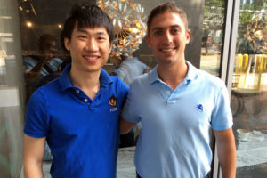 Snaapiq co-founders Ryo Hang and Jacob Perler