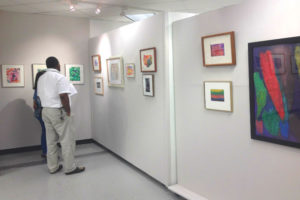 """""""Making Their Mark: Art Brut"""" at Gallery Underground (photo via ServiceSource)"""