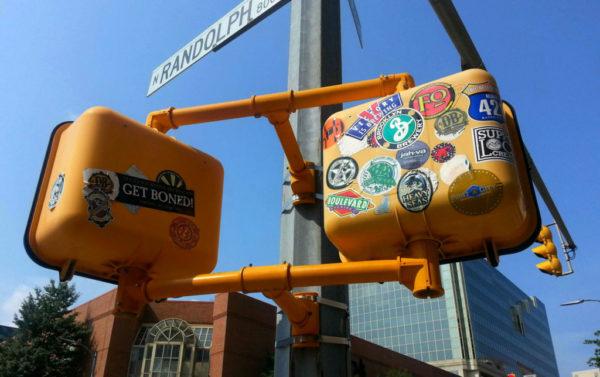Decorated signals in Ballston