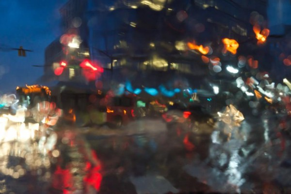Rain in Ballston (Flickr pool photo by Kevin Wolf)