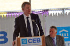 CEB Chairman and CEO Tim Monahan at the CEB Tower groundbreaking