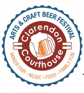 Courthouse Arts & Craft Beer Festival flyer