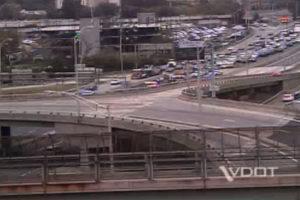 Car crash snares traffic on I-395 Sept. 30, 2014