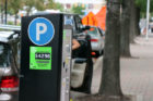 Parkmobile signs now up in  Clarendon