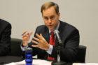 Alan Howze debates at the Arlington Civic federation on Sept. 2, 2014