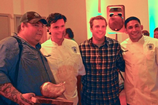 Chefs from Vermilion bested ACFD's team for the entree contest.