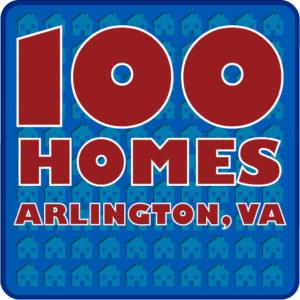 100 Homes logo (via Arlington County website)