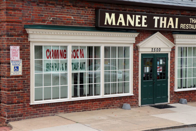 The Celtic House is moving into the former Manee Thai space on Columbia Pike