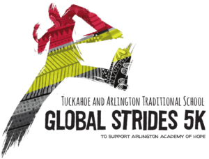 Global Strides 5K logo