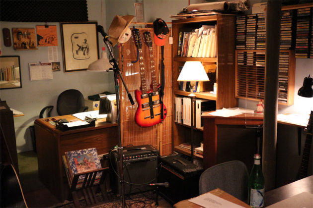 The office at Inner Ear Studio