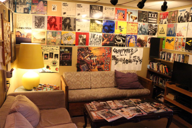 The green room at Inner Ear Studio