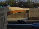 Route 50 bridge art (photo via Vicki Scuri)