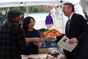 Ed Gillespie in Rosslyn