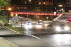Lighted Fairfax Drive bridge over Route 50