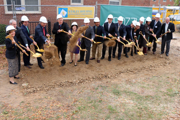 Groundbreaking for the Union at Queen apartments