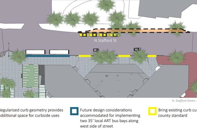 Changes proposed for N. Stafford Street
