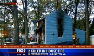 Fatal S. Emerson Street fire (photo via Fox  5)