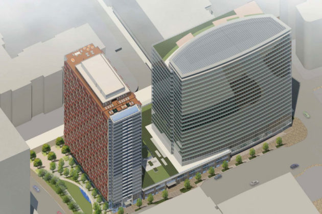 Vornado's rendering of its redevelopment plans for 223 23rd Street S.