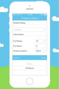 Culdesac game creation page