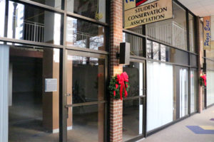 A retail space at 1800 N. Kent Street that has been vacant for six years