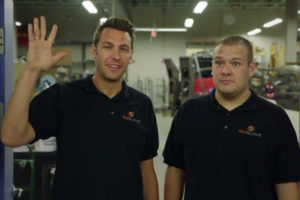 GoGlove cofounders Eric Ely and Ben Harris