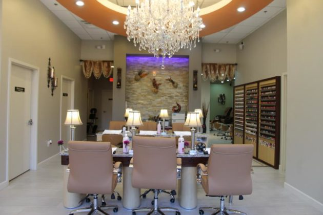 Now open oasis nail spa on wilson blvd promoted for Salons wilson