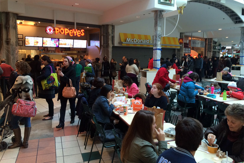 Food At Pentagon City Mall