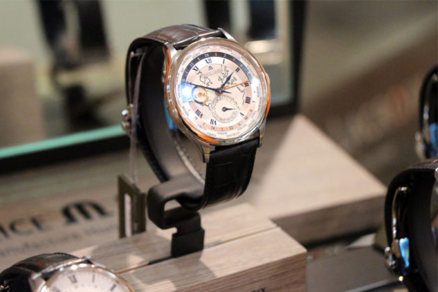 A Maurice Lacroix watch, sold at Watchstyle in Ballston Common Mall