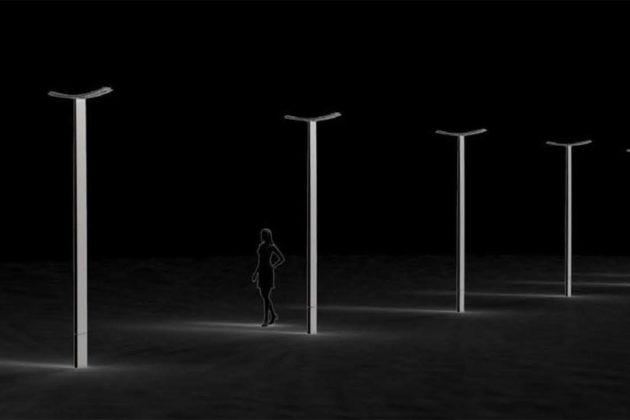 Wifi Streetlights planned for Rosslyn (rendering courtesy Rosslyn BID)