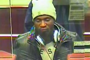 Capital One Bank robbery suspect (photo courtesy ACPD)