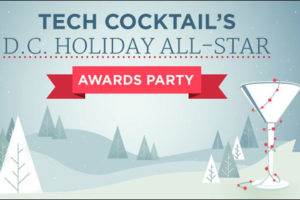 Teck Cocktail holiday party poster