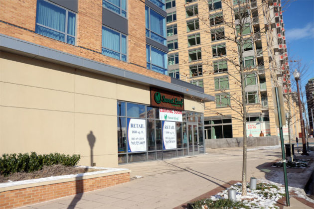 The location of the newest Sweet Leaf Cafe at 650 N. Quincy Street in Ballston