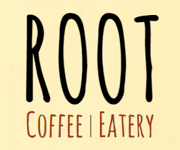 """Root"" cafe logo"
